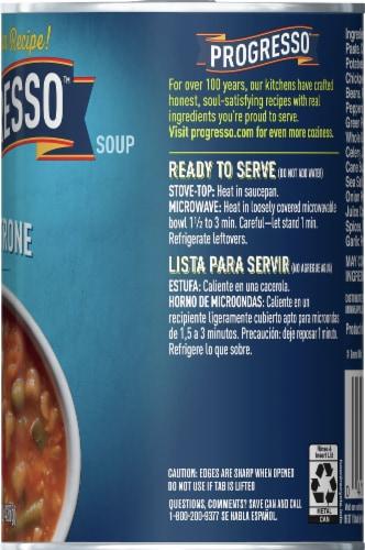 Progresso Minestrone Soup Perspective: right