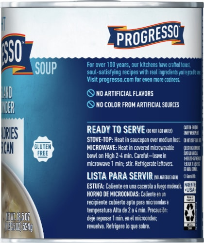Progresso Light New England Clam Chowder Perspective: right