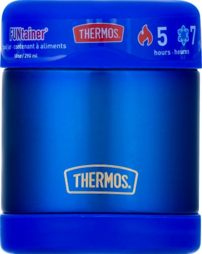 Thermos Stainless Steel Food Jar - Blue Perspective: right
