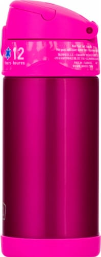 Thermos Stainless Steel Vacuum Insulated Straw Bottle - Pink Perspective: right