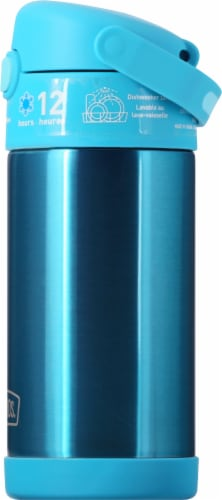Thermos FUNtainer Stainless Steel Bottle - Teal Perspective: right