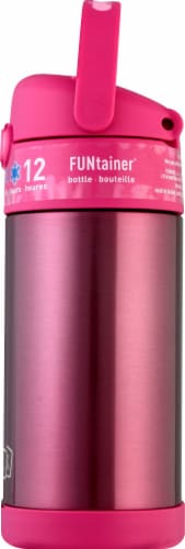 Thermos FUNtainer Stainless Steel Bottle - Pink Perspective: right