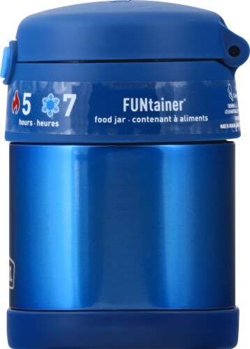 Thermos Stainless Steel Funtainer Food Jar - Navy Perspective: right