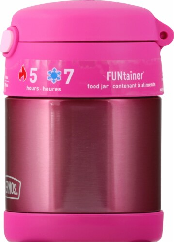 Thermos FUNtainer Stainless Steel Food Jar - Pink Perspective: right