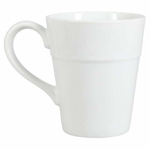 Dash of That™ Ro Ceramic Mug - White Perspective: right