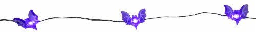 Holiday Home® 20 LED Bat Lights - Purple Perspective: right