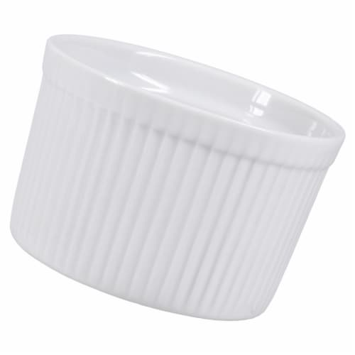Dash of That™ Tall Souffle Dish - White Perspective: right