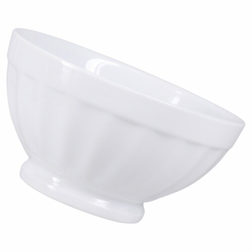 Dash of That™ Sellwood Footed Bowl - White Perspective: right