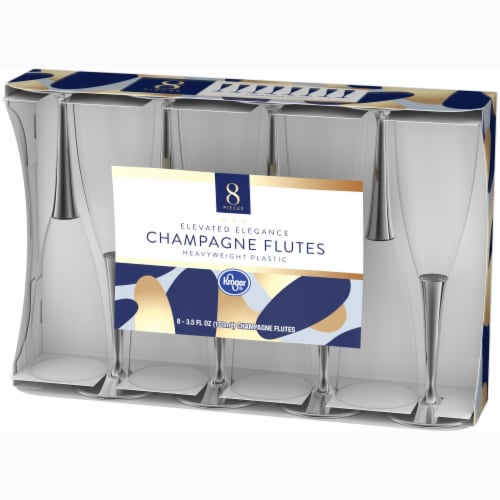 Kroger® Champagne Flutes - Clear Perspective: right