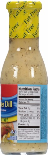 McCormick Lemon Butter Dill Fat Free Seafood Sauce Perspective: right