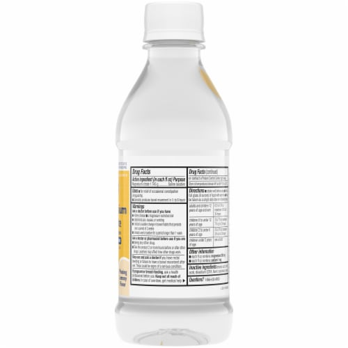 Kroger® Lemony Flavor Magnesium Citrate Saline Laxative Perspective: right