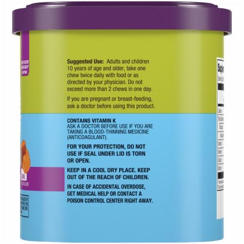 Kroger® Calcium Chews Dietary Supplement Caramel Soft Chews Perspective: right