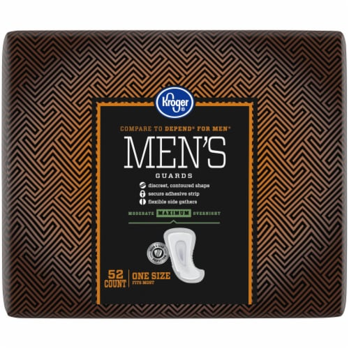 Kroger® Maximum Strength Men's Guards Perspective: right