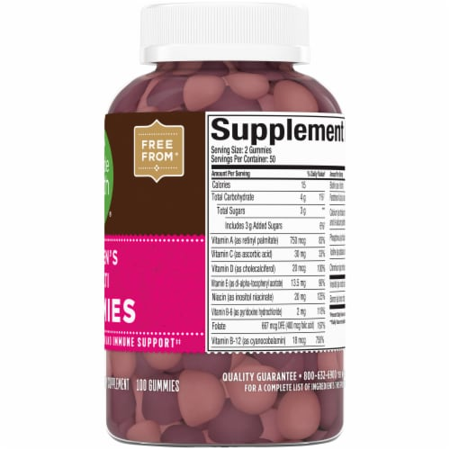 Simple Truth™ Women's Multi Gummies Perspective: right