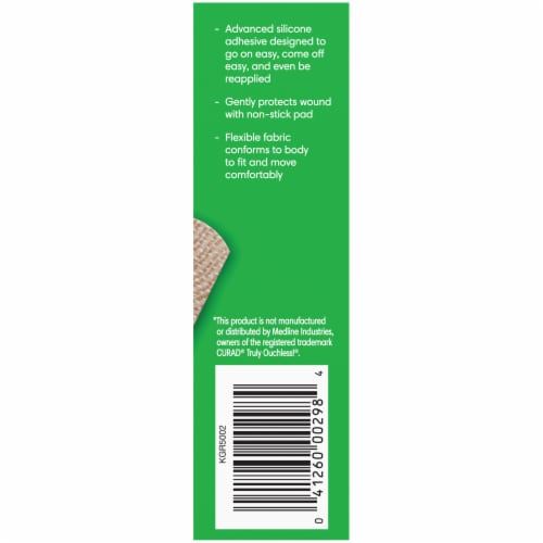 Kroger® Flexible Fabric Sensitive Skin Bandages Perspective: right
