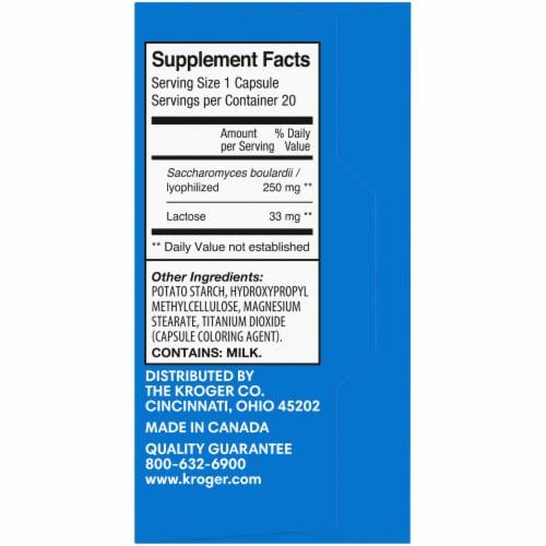 Kroger® Flora Health Probiotic Vegetarian Capsules Perspective: right