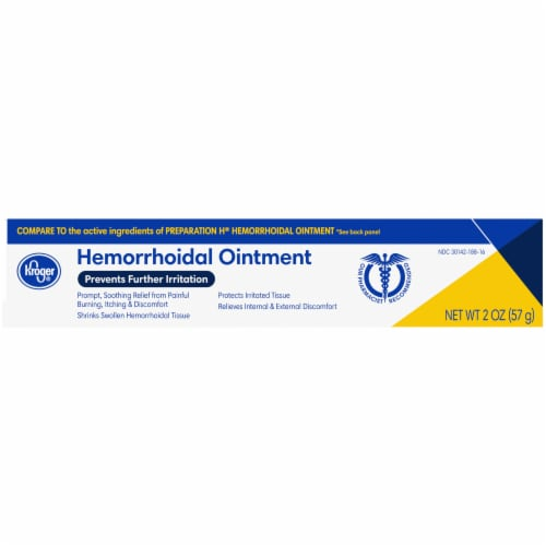 Kroger® Hemorrhoidal Ointment Perspective: right