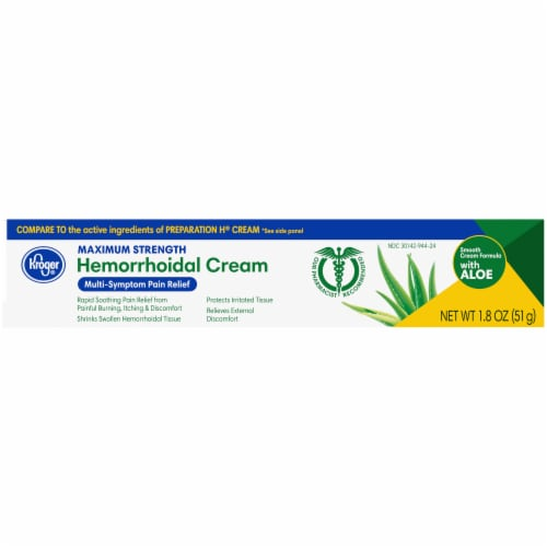 Kroger® Hemorrhoidal Cream Perspective: right