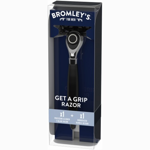 Bromley's™ For Men Get a Grip Razor Perspective: right