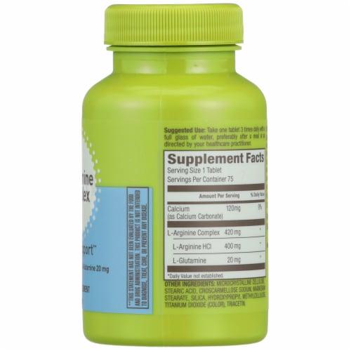 Kroger® L-Arginine Complex Heart Support Supplement Perspective: right