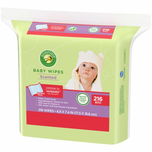 Comforts™ Scented Baby Wipes Perspective: right
