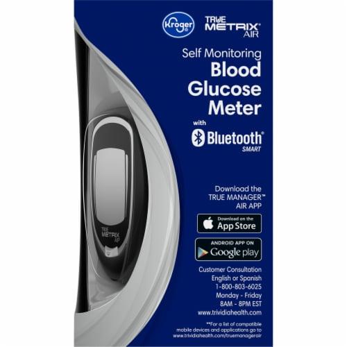 Kroger® True Metrix® Air Self Monitoring Blood Glucose Meter Perspective: right