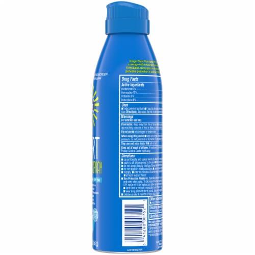 Kroger® Broad Spectrum Sport Sunscreen Spray SPF 50 Perspective: right