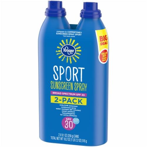 Kroger® Broad Spectrum Sport Sunscreen Spray SPF 30 Perspective: right
