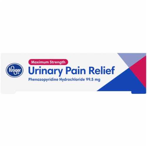 Kroger® Maximum Strength Urinary Pain Relief Tablets Perspective: right