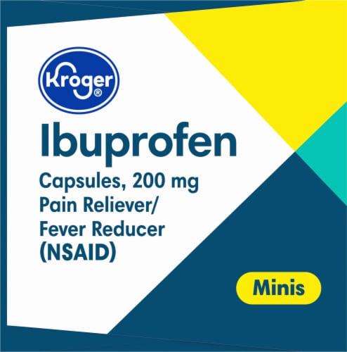 Kroger® Ibuprofen Mini Softgels 200mg Perspective: right
