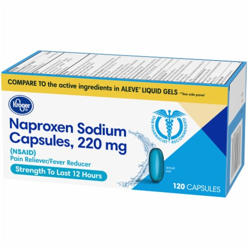 Kroger® Naproxen Sodium Capsules 220mg Perspective: right