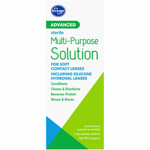 Kroger® Advanced Multi-Purpose Contact Solution Perspective: right