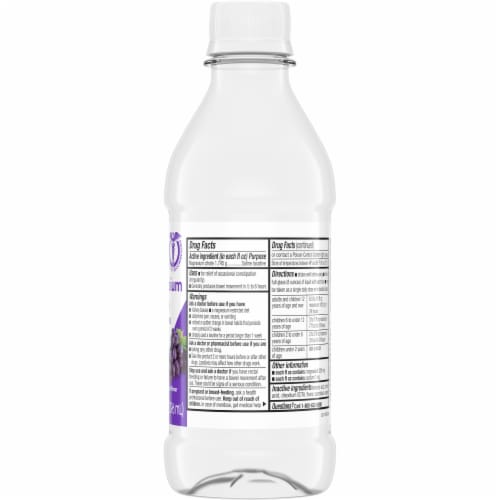 Kroger® Grape Flavor Magnesium Citrate Saline Laxative Perspective: right