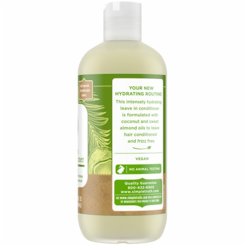 Simple Truth™ Coconut & Almond Oil Leave-In Conditioner Perspective: right