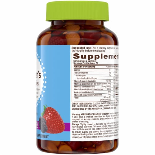Kroger® Women's Gummies Multivitamins Perspective: right