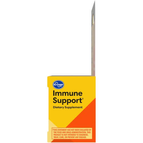 Kroger® Immune Support Orange Flavor Effervescent Tablets Perspective: right