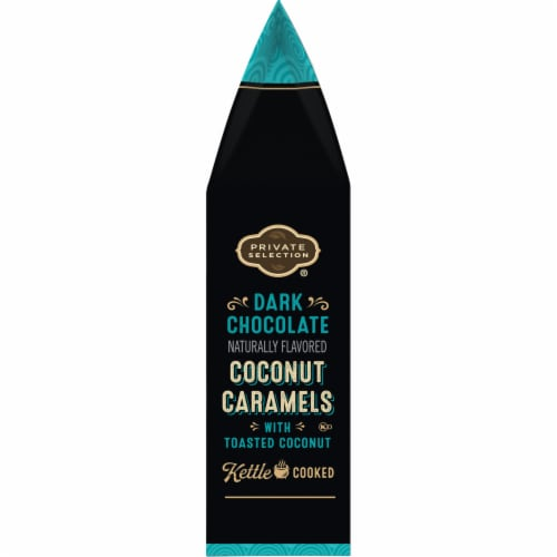 Private Selection® Dark Chocolate Coconut Caramels Perspective: right