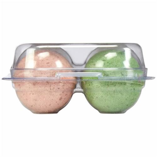 Simple Truth® Avocado Coconut & Papaya Effervescent Bath Bombs Perspective: right