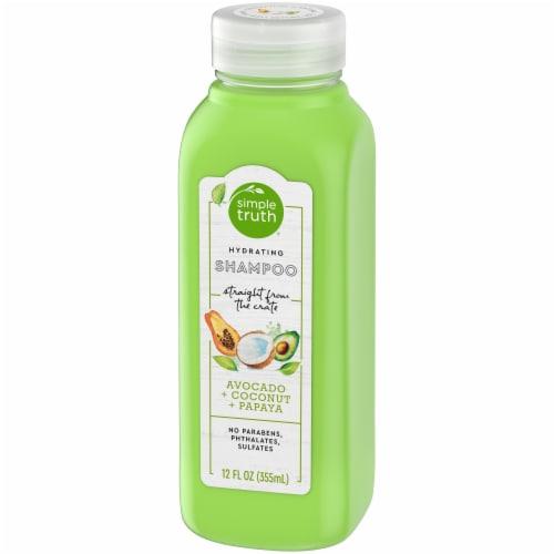 Simple Truth® Beauty Crate Avocado Coconut & Papaya Hydrating Shampoo Perspective: right