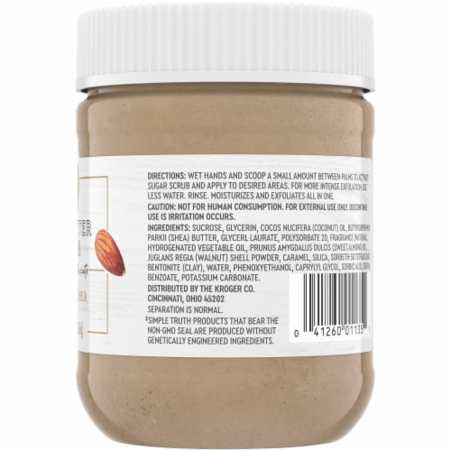 Simple Truth® Almond Shea Nut Butter Scrub Perspective: right