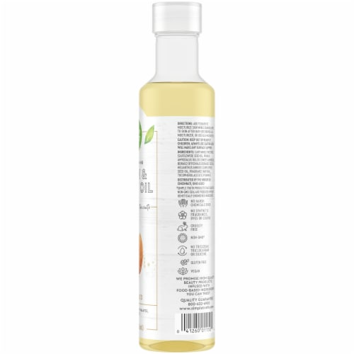 Simple Truth® Almond Body Oil Perspective: right