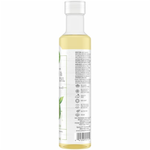 Simple Truth Avocado Body Oil Perspective: right