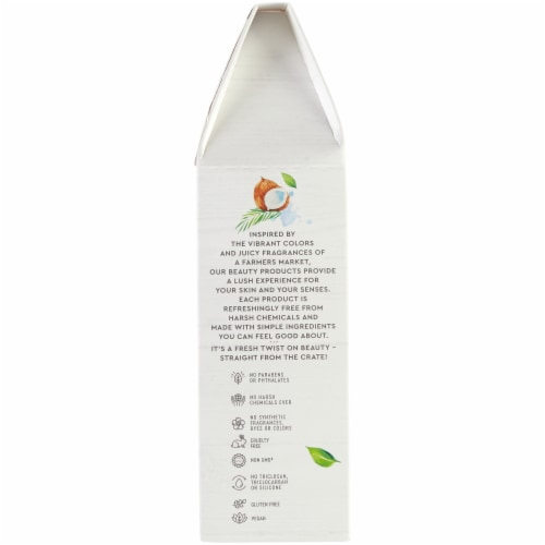 Simple Truth® Beauty Crate Coconut Milk Bath Milk Perspective: right