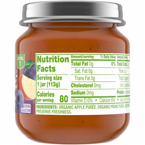 Simple Truth Organic® Apple and Prune Baby Food Puree Perspective: right