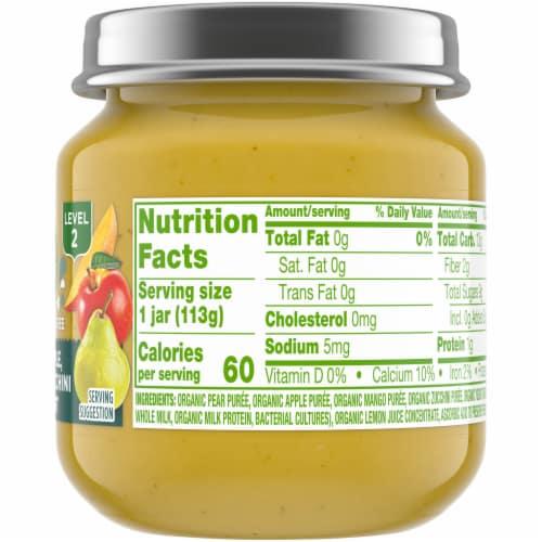 Simple Truth Organic® Mango Pear Apple Zucchini and Yogurt Baby Food Puree Perspective: right
