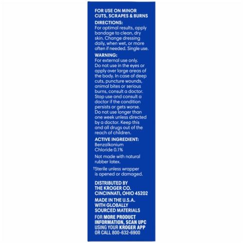 Kroger® PJ MASKS Antibacterial Kids Plastic Bandages Perspective: right