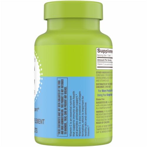 Kroger® Vitamin C Caplets 500mg Perspective: right