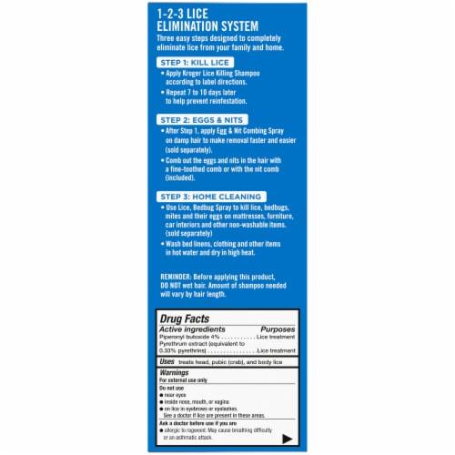 Kroger® Maximum Strength Lice Killing Shampoo Perspective: right