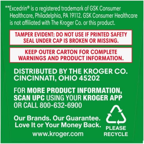 Kroger® Extra Strength Headache Relief Geltabs Perspective: right