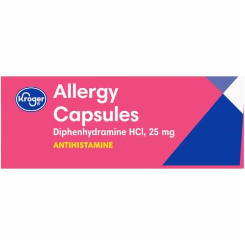 Kroger® Allergy Antihistamine Capsules Perspective: right